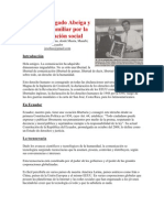 Ricardo Delgado Abeiga y la pasión familiar por la comunicación