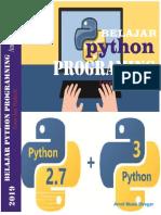 Belajar Python Programing Teori Dan Praktek