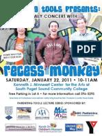 Recess Monkey 1-22-11