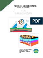 Modul Praktikum Eksplorasi Geothermal