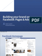 Building your Brand on Facebook