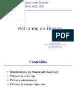 arquitectura del software patrones de diseño