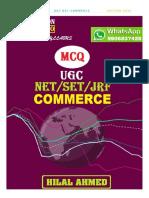 Ugc Net Commerce Mcq- 2020 (Hilal Ahmed)