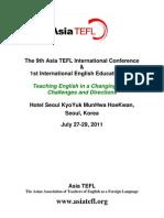ASIA TEFL 2011