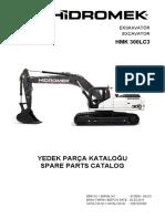 Spare Parts HMK 300 LC-3