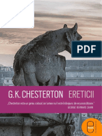 G.K.Chesterton Ereticii