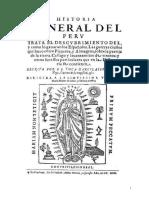1-Garcilaso de La Vega - Historia General Del Perú (1617)