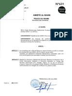 Communiqué de la mairie de Périgueux sur la fermeture des cimetières
