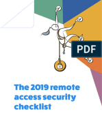 The 2019 Remote Access Security Checklist eBook Realvnc