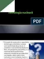 Tehnologia nucleară