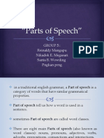 Parts of Speech(1)