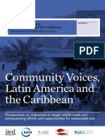 Community Voices, Latin America and the Caribbean