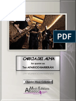 Caricia Del Alma for sax quartet