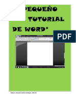 Tutorial de Word 1