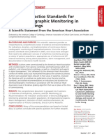 Electrocardiographic Monitoring 2017