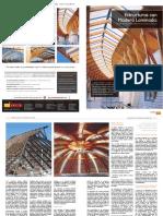 Estructuras con madera laminada