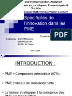 Innovation & PME