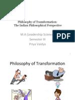 Philosophy of Transformation