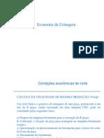 Aula 8_ Economia da usinagem 2016