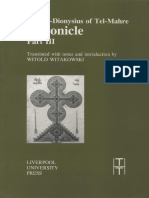 (Translated Texts for Historians, 22) Pseudo-Dionysius of Tel-Mahre, Witold Witakowski (transl.) - Chronicle (Known Also as the Chronicle of Zuqnin). Part III-Liverpool University Press (1996)