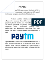 PAYTM PROJECT