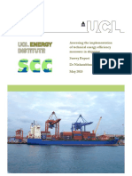 Assessing the implementation of energy efficiency