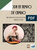 La moda en tiempo de cambio - Guía didáctica fondo textil Museu Valencià de la Festa