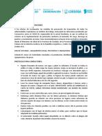 Protocolo Para Transporte de Cereales Córdoba