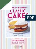 Bake Off classic cake