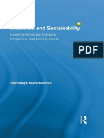 Seonaigh MacPherson Education and Sustainability  Learning Across the Diaspora, Indigenous, and Minority Divide Routledge