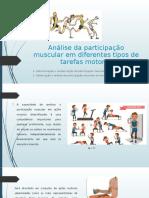 M5 - Análise da participação muscular em tarefas motoras