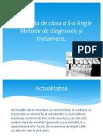 Malocluzie clasa II Angle