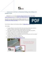 Manufacturer and Dealer of Aluminium Railings Glass Railings & SS Railings in Pune-converted (1)