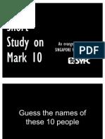 Mark 10