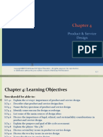 Chapter 4 Product and Service Design