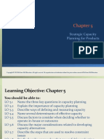 Chapter 5 Strategic Capacity Planning for Products and Services