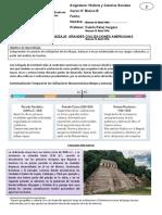 Guía de Aprendizaje repaso mayas aztecas e incas 8°