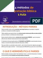 Métodos de Interpretação Judaica - PARDES.pdf