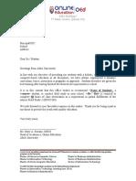 FS3 Recommendation Letter