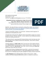 LDAD Barr letter