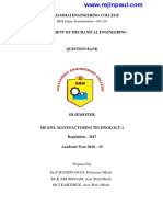 ME8351-Manufacturing Technology-I