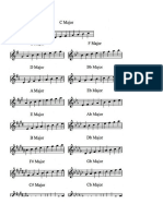 Apunte didactico de acordes y escalas