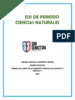 Síntesis Ciencias Naturales 5to 1 Periodo