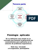 4 Fisiología del Trabajo - Aplicaciones