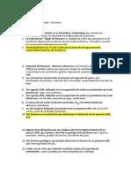 Cuestionario Green C1 Enero 2020