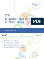 Sensibilisation a ITIL
