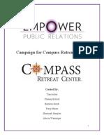 Compass Retreat Center Public Relations Campaign