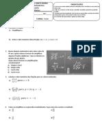 prova de recuperação - MATEMÁTICA 8ºano A e B.pdf