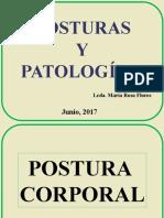 POSTURAS Y PATOLOGÍAS