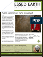 April 2009 Blessed Earth Newsletter